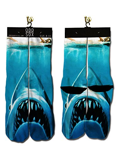 Jaws Shark Attack Socks, 6-13