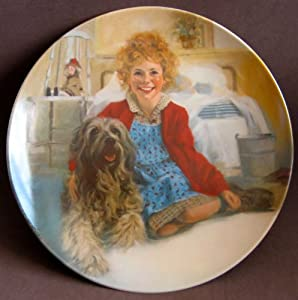 Little Orphan Annie China Collector Plate ANNIE And SANDY Limited Edition 1st