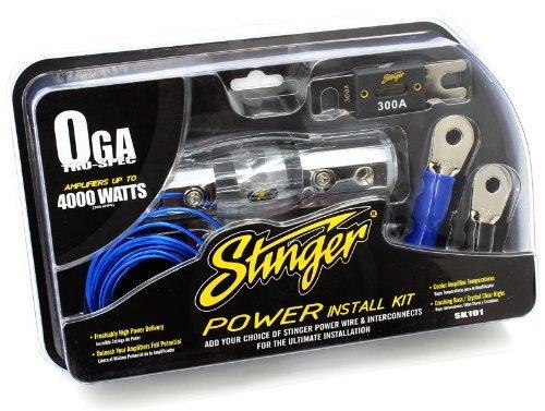 Stinger SK101 4000-Watt 1/0-Gauge Car Audio Amplifier