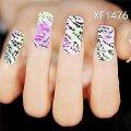 Amazon com dalin 3d nail art tips stickers false nail design