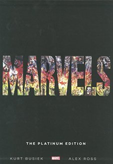 Marvels: The Platinum Edition Slipcase by Kurt Busiek| wearewordnerds.com