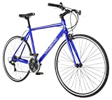 Performance Hybrid Bike Flat Bar Road Bike Shimano 21 Speed 700c Bicycle