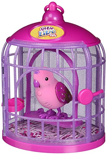 Little Live Pets Bird W/Cage Pretty Princess