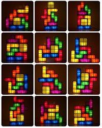 Original Tetris LED Games Light Stackable Constructible ...
