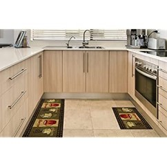 Non Skid Kitchen Rugs Install Cabinets Runner Mat