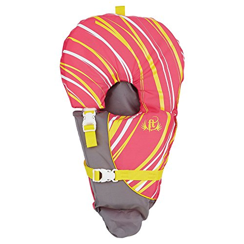 Full Throttle Infant Baby-Safe Life Vest, Pink