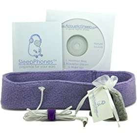 SleepPhones System: Sleep Headphones with Binaural Beats CD