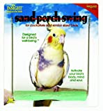 JW Pet Company Insight Sand Perch Swing Bird Toy, Regular