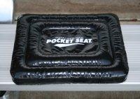 POCKETSEAT Inflatable Chair Cushion - Black 13x10x1.5 ...