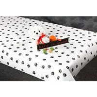 Amazon.com: 300 foot Paw Print Paper Table Cover: Health ...