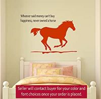 Amazon.com : Horse wall decal, girls room quote decal ...