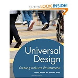 Click on book image, Universal Design: Creating Inclusive Environments, to learn more at Amazon.com