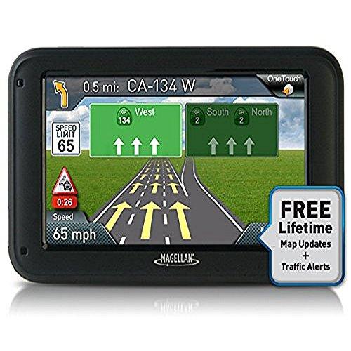 "Magellan RoadMate 5235T-LM 5"" Portable GPS Navigator w/ Lifetime Maps & Traffic"