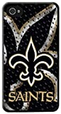 Team ProMark KIPH4FNORLN1 New Orleans Saints Licensed NFL Slim Protective Case for Apple iPhone 4/4S - 1 Pack - Retail Packaging
