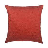 Amazon.com - Nirvana Euro Sham, Coral - Pillow Shams