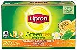 Lipton Green Tea, Orange Passionfruit Jasmine 20 ct