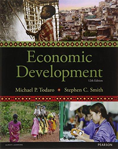 1292002972 – Economic Development, 12th edition (The Pearson Series in Economics)
