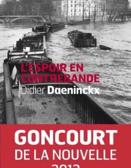 L'espoir en contrebande - Didier Daeninckx