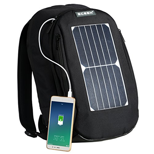 Laptop Backpack Book School Bag 7 Watts Waterproof Solar