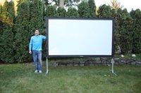 Wooden deer stand plans, backyard projector screen
