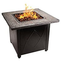 Blue Rhino Outdoor Propane Gas Fire Pit: Amazon.ca: Patio