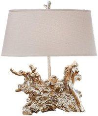 Regina Andrew Amber Silver Root Lamp - Table Lamps ...