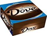 Dove Milk Chocolate Candy Bar, Singles (18 Count)