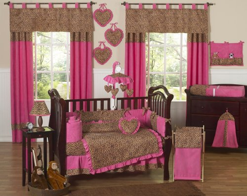 Cheetah Print Crib Bedding