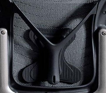 posturefit chair fx covers eu aeron adjustable graphite g1 lumbar support pad large size c genuine herman miller parts for your home office desk task