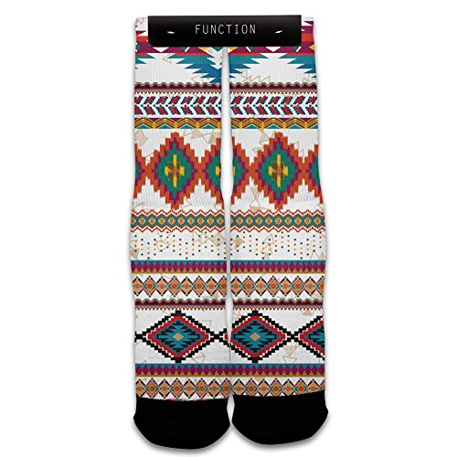 Function - Tribal Pattern Sublimated Sock