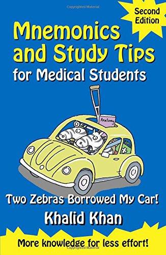 Mnemonics And Study Tips For Medical Students (Hodder Arnold Publication)
