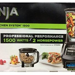 Ninja 1500 Watt Mega Kitchen System Garden Window Blenders B00nx5ghxi Blender Watts