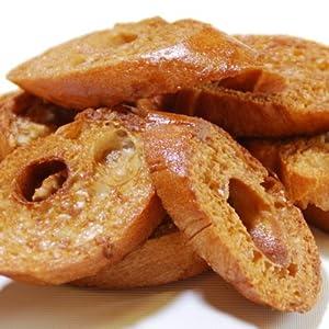 奥山製麩所 六田の麩/お麩を使った麩のお菓子「ふ・らすく」(黒糖)