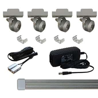 Solaris LED Miniature Track Light Kit