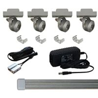 Solaris LED Miniature Track Light Kit - Plug In Track ...