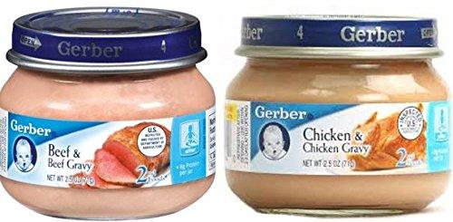 Gerber 2nd Foods: Meats Beef and Gravy, 2.5