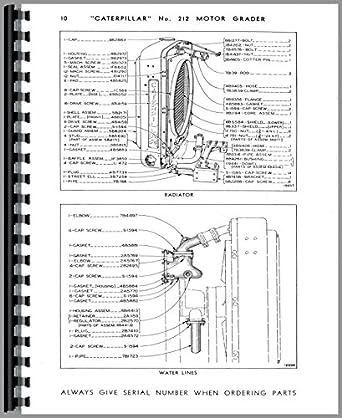 Caterpillar 212 Grader Parts Manual: Amazon.com