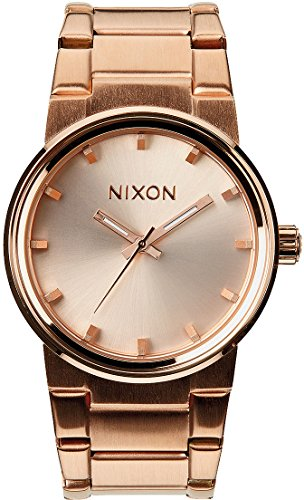 s cannon watch,nixon women,rose gold,video review,one size,(VIDEO Review) Nixon Women's Cannon Watch, Rose Gold, One Size,