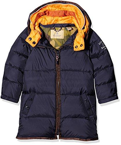 Scotch Shrunk Jungen Jacke Basic Longer Length Nylon Mix Down Jacket