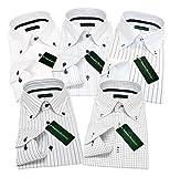 (グリニッジ ポロ クラブ) GREENWICH POLO CLUB ワイシャツ 5枚セット ボタンダウン 白