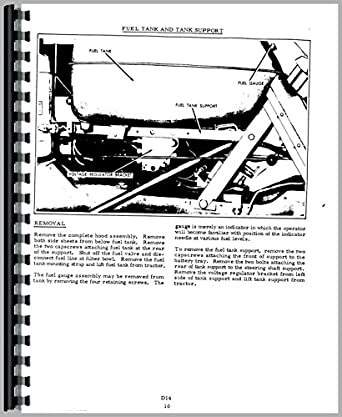 Allis Chalmers D14 Tractor Service Manual: Amazon.com