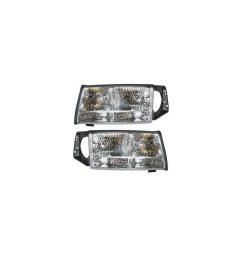 cadillac deville headlights clear headlights 1997 1998 1999 97 98 99 [ 960 x 960 Pixel ]