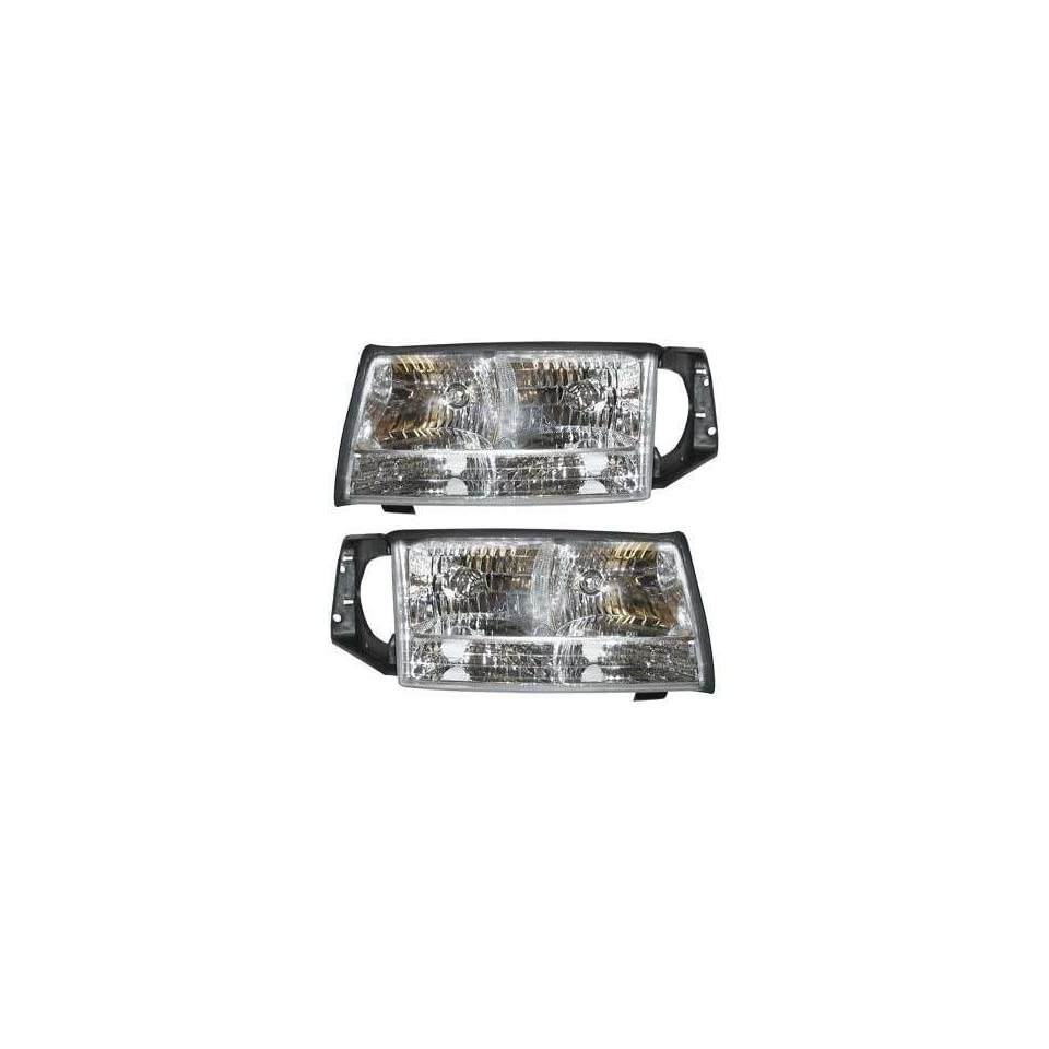 hight resolution of cadillac deville headlights clear headlights 1997 1998 1999 97 98 99