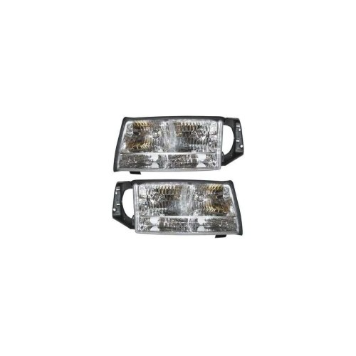 small resolution of cadillac deville headlights clear headlights 1997 1998 1999 97 98 99
