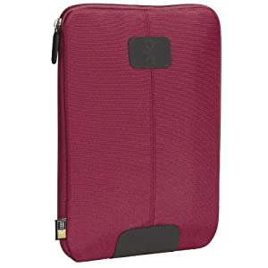 "Case Logic Nylon Kindle DX Sleeve (Fits 9.7"" Display, Latest and 2nd Generation Kindles), Dark Red"