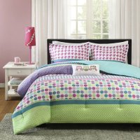 Girls Teen Kids FULL /QUEEN Comforter Bedding Set OWLS ...