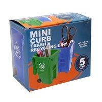 Pencil Mini Trash Recycle Bin Can Cup Holder Pen Desk ...
