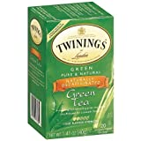 Twinings Green Decaffeinated Tea 20 Count, Pack of 2