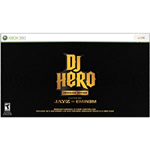 Xbox 360 DJ Hero Renegade Edition Featuring Jay-Z and Eminem