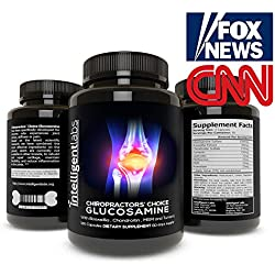 ★ #1 Glucosamine on Amazon! ★ Stop Pain Now! ★ Feel Years Younger ★ Strengthen Joints ★ with Boswellia, Chondroitin, MSM and Tumeric ★ 2 Month's Supply ★ Love It or 100% Money Back Guarantee ★